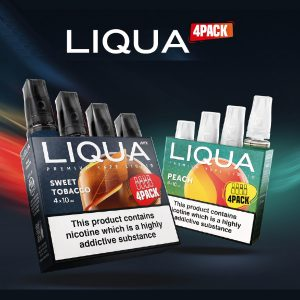 Liqua 4x 10ml pack